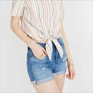 Madewell | Cut Off Jean Shorts Distressed 30